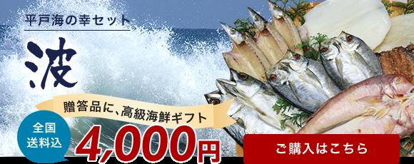 平戸海の幸セット 波